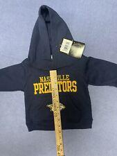 New Nashville Predators Hoodie Sweatshirt Size 12 Months Infant Baby Stanley Cup
