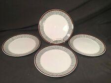 """Vintage Gustavsberg Sweden Spisa Ribb Pattern 9 3/4"""" Dinner Plate's & Creamer"""