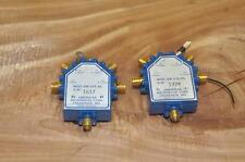 American Microwave Corp AMC SW-218-4S Switch LOT OF 2