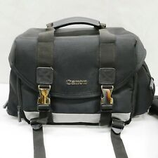 Canon Large DSLR Camera And Accessories Bag 15x10x9 With Shoulder Strap