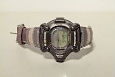 RETRO CASIO DW 9100 RISEMAN TWIN SENSOR BLACK G SHOCK WATCH JAPAN1663 MODULE FM