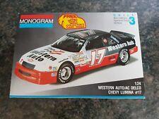 Monogram 1/24 1991 Weston auto CHEVROLET LUMINA STOCK CAR très bon état très RARE