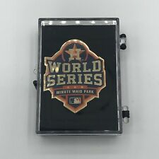 2019 HOUSTON ASTROS MLB World Series Press Pin - RARE PIN