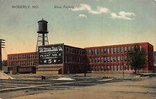 Postcard Shoe Factory in Moberly, Missouri~112225
