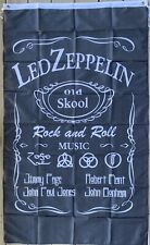 Led Zeppelin Tapestry Banner Fabric Flag Poster 3 X 5 Feet Classic Rock