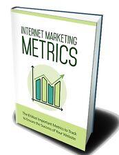 Internet Market Metrics PDF Ebook -- Free Shipping