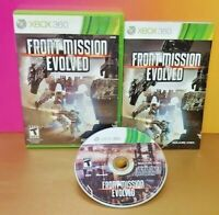 Front Mission Evolved  Microsoft Xbox 360 Rare Game Complete  Working + Tested
