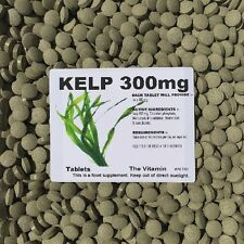 SEA KELP (300mg)  180 Tablets  One or two per day     (L)