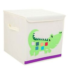 Kids toy Box square Container storage Solution Bag Retro Bedroom Folding SALE