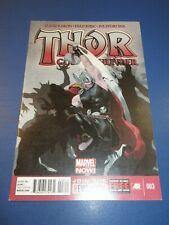 Thor God of Thunder #3 2nd Gorr VF+ Beauty Wow Jason Aaron