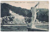 caserta  CASCATA PRINCIPALE PARCO REALE SPEDITA  1932