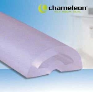 Uniblade Chameleon Wet Room ShowerFloor Silicone Seal Stop Water Escaping Clear
