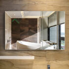 1200x900MM WALL MIRROR Bedroom Bathroom Pencil Edge Shaving Glossy Vanity Large