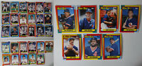 1990 Topps Boston Red Sox Team Set of 36 Baseball Cards With Traded