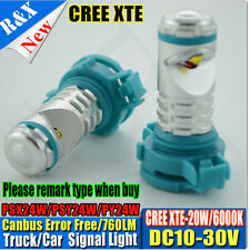 2pcs PSX24W H16 Torch Projector LED CREE White Fog Light bulbs 86 GTS Subaru BRZ