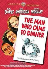 The Man Who Came to Dinner DVD New Bette Davis, Ann Sheridan, Monty Woolley
