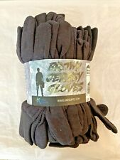 New listing Brown Jersey Gloves For Construction Warehouse Maintenance Landscaping ~ D22