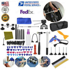 100×Dent Puller Lifter Paintless Hai Ding Removal Repair Hammer Kit Tools,