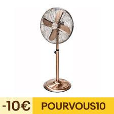 ventilateur sur pied 3 vitesses 45cm 50w cuivre - bestron