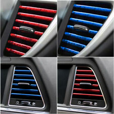 10Pcs Car Truck Accessories AUTO Air Conditioner Outlet Vent Decoration Strip US