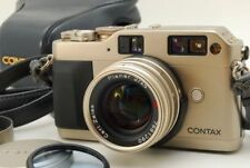 Contax G1 35mm Rangefinder w/Planar 45mm f/2 Lens & Case [Exc+] from Japan F/S