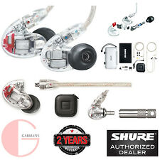 Shure SE846-CL Sound Isolating Earphones w/ Quad Hi Def. U.S Authorized Dealer