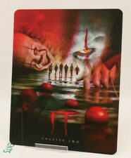 I.T CHAPTER 2 it two - Lenticular 3D Flip Magnet Cover FOR bluray steelbook