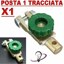 Morsetto Staccabatteria antifurto stacca batteria auto barca camper MOTO 12/24V