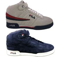 Fila Men's F13 F 13 PS Pinstripe High Mid Top Casual Classic Basketball Shoes