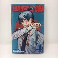 Chainsaw Man Vol. 4 English Manga ByTatsuki Fujimoto Brand New