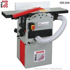 Holzmann HOB260ABS 400Volt Hobelmaschine + Absaugung Abricht-Dickenhobelmaschine