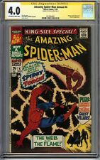 Amazing Spider-Man Annual #4 CGC 4.0 SIGNED STAN LEE Far From Home Mysterio App
