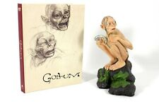 New listing Lotr Two Towers Gollum Sideshow Weta Figurine with Dvd/Art Book