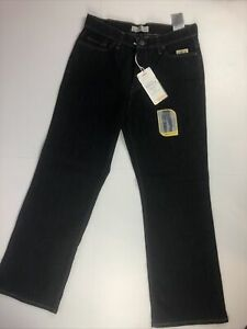 NWT Women's Levi 512 Perfectly Slimming Size 12 Short Jeans Bootcut Dark Wash