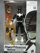 Power Rangers New * Mm Black Ranger * Lightning Collection 6-Inch Action Figure