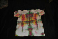 Amazing!Unbelievable! 1 of a Kind Tie Dyed T-Shirt Jesus Christ Appearing.See It
