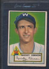 1952 Topps #106 Mickey Vernon Senators Fair *720