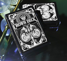 Playing Cards The Crown Deck (BLACK) from The Blue Crown and Murphy's Magic