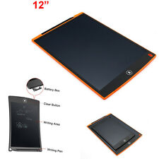 12inch LCD eWriter Tablet Writing Drawing Pad Memo Message Board Electronic UK