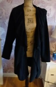 Ladies Wave Edge Shawl Cardigan size XXL Brand new without Tags Black in colour