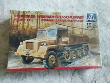New Italeri German Cargo Halftrack Schwerer Model Kit No. 360 1:35 Scale