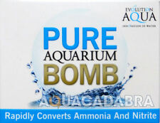 EVOLUTION AQUA PURE AQUARIUM BOMB CRYSTAL CLEAR WATER HEALTHY MEDIA FISH TANK