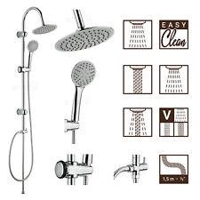 Duschset Regendusche Duschsäule Duschpaneel Überkopfbrause Duschstange Brause