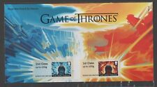 GB 2018 POST AND GO GAME OF THRONES STAMP SET (P&G 28)