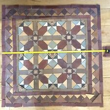 Reclaimed Antique Victorian Edwardian Encaustic Geometric Vitrified Floor tiles