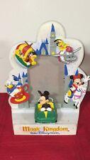 Vintage Magic Kingdom Frame Disney Souvenir Theme Park Mickey Mouse Donald Duck
