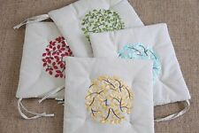Floral Garden Embroidered Decorative Cushions & Pillows
