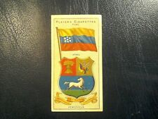 J. PLAYER. 1905.-1912.  COUNTRIES  ARMS  &  FLAGS . 1 ODD CARD   NUMBER 42.