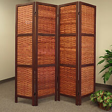 Interior Room Divider Partition Portable Moveable Wall Privacy Dressing Screen