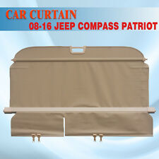08-16 Jeep Compass Patriot Retractable Bge Cargo Cover Rear Trunk Luggage Shade